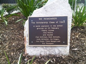 Goodna commemorative plaque