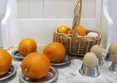 Eggs and Oranges