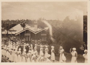 6 Duke of Gloucester visit - nurses guard of honour 1934