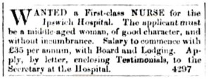 Nurse advertisement