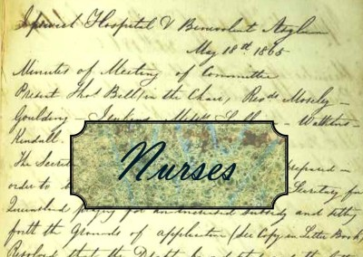 Just a minute in 1865:  Nurses