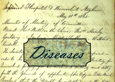 Just a minute in 1864: Diseases