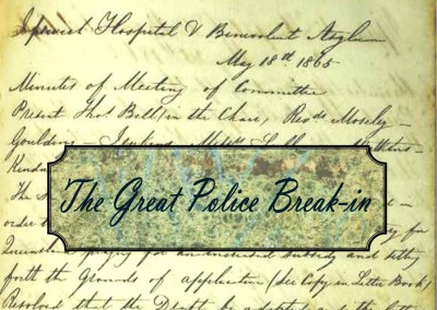 Just a minute in 1874: The Great Police Break-in